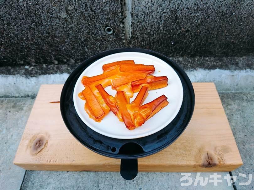 燻製した後のチーズ鱈