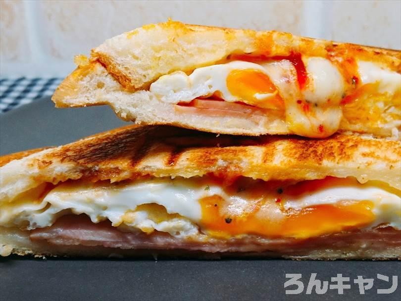 【 i-WANO × 燕三条 】ホットサンドメーカーで焼いたホットサンド