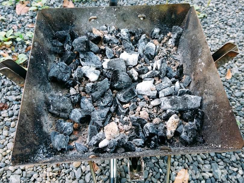 ダイソーのオイルポットを火消し壺に使う