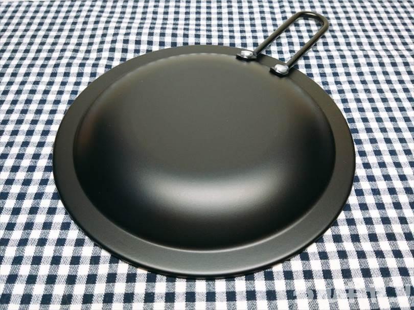 ニトリの『IH 二層鋼グリルパン 片手(16cm)』のフタ
