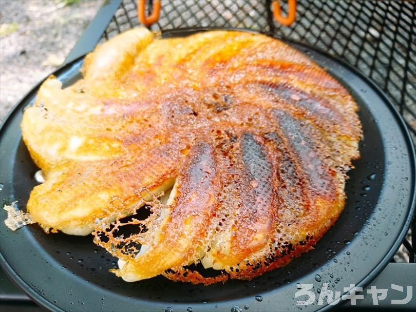 ニトリの20cmの二層鋼グリルパンはキャンプで使うフライパンにおすすめ