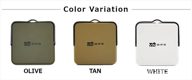 WAQ LEDランタンのカラーバリエーション