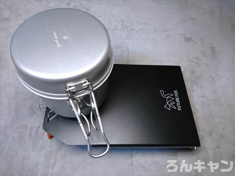 FUTURE FOX (フューチャーフォックス) ST-310専用ステンレス遮熱板テーブル