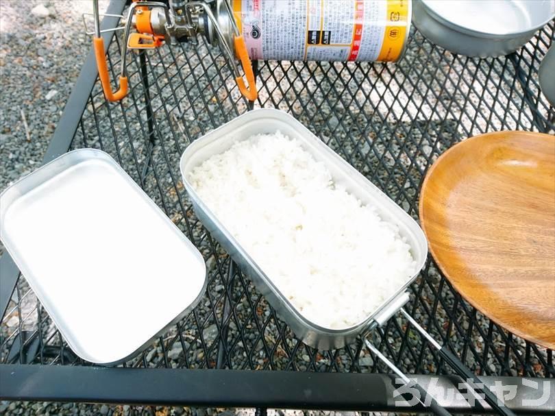 【お手軽キャンプ飯】無印良品のカレーを外で食べると100倍美味しい|ゲーンパー(森のカレー)はしっかり辛くて具だくさんで旨味たっぷり