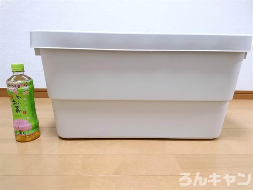 【コスパ抜群】無印良品の頑丈収納ボックスはキャンプで大活躍|テーブルにも使える簡単DIYがオシャレ