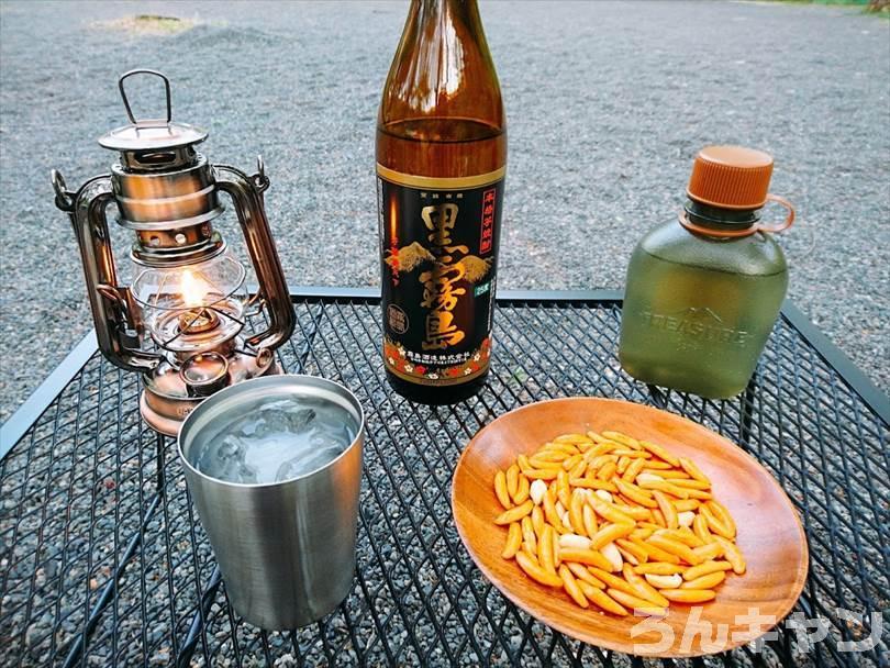 【キャンプ飲み】ニトリのステンレスタンブラーが大活躍|ビールや焼酎がずっと冷たくて美味しい