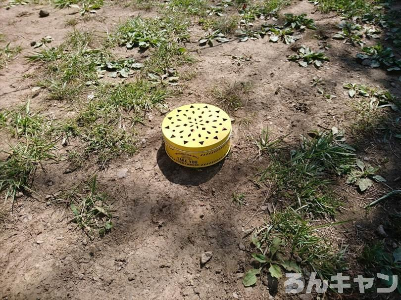 【100均】セリアの蚊取り線香ケース・大|オシャレなデザインの鮮やかな黄色に一目惚れ