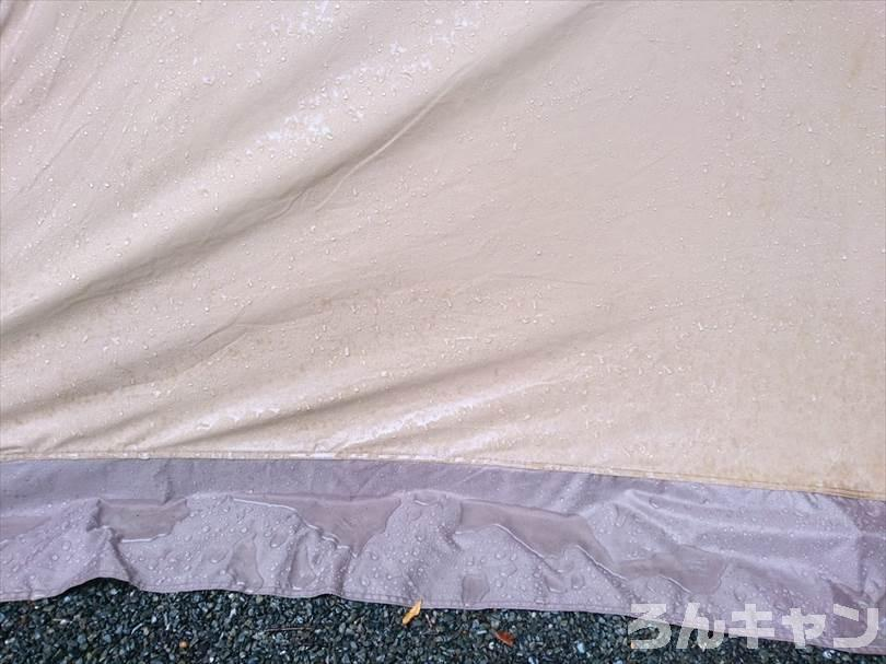 雨に濡れたサーカスTC DX