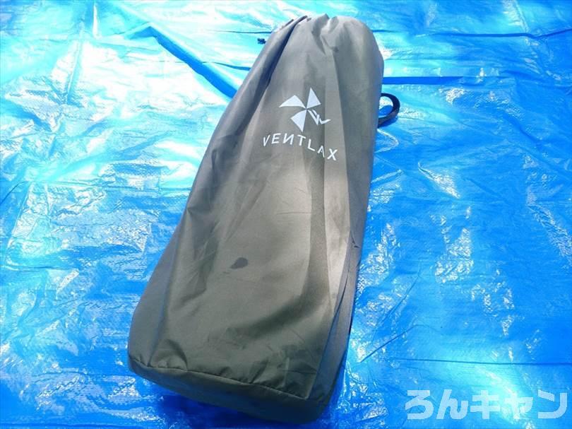 VENTLAXのインフレーターマットは厚さ8cmでふかふかパンパン!低反発ベッドのような快適な寝心地