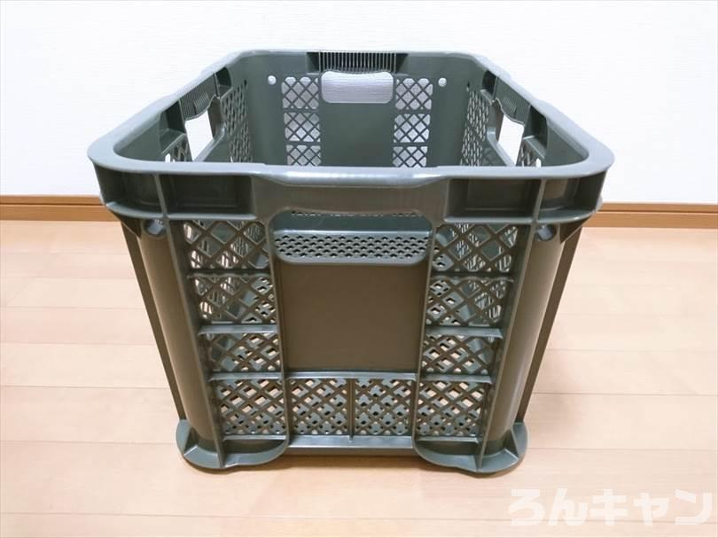 【安定】カインズの取っ手が持ちやすいコンテナ|タフに使えて車に積みやすい