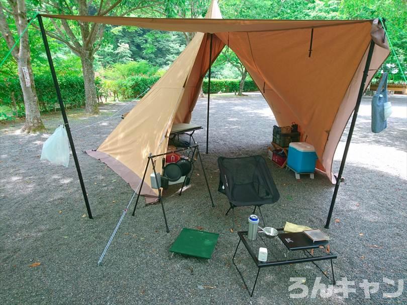 【レビュー】サーカスTC DX は簡単設営で快適キャンプが楽しめる 実際に使用した様子をご紹介