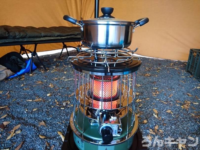 【激安999円】ニトリのステンレス両手鍋がキャンプで大活躍|お手入れ簡単で使いやすい
