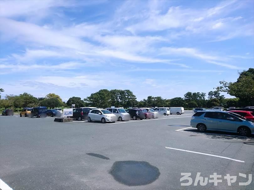 風車公園 南駐車場