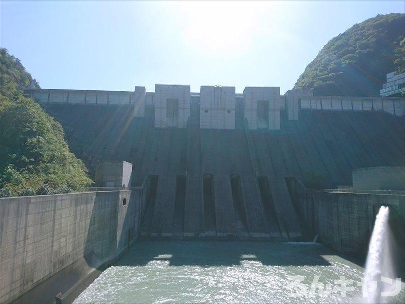 【ゆるキャン△聖地巡礼】長島ダム「でっかーい!」(11巻・第58話)